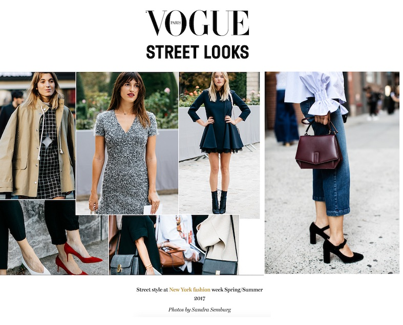 Barney street shot for Vogue