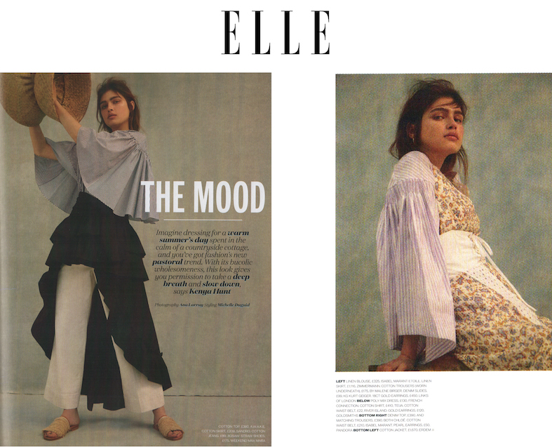 Elle magazine article