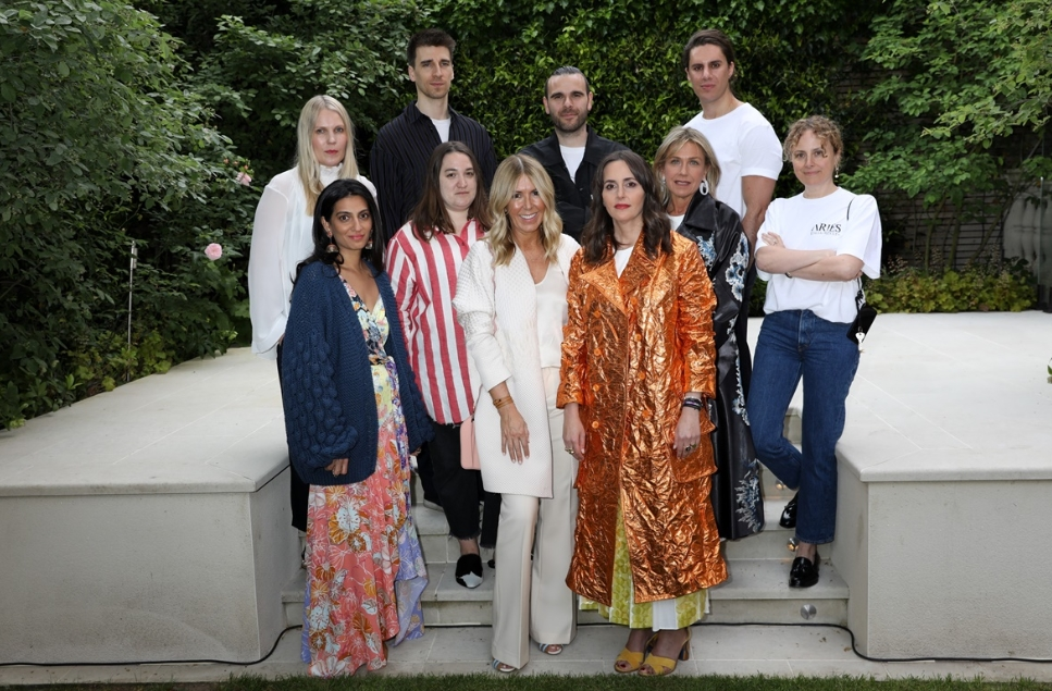 British Fashion Council Trust award photograph
