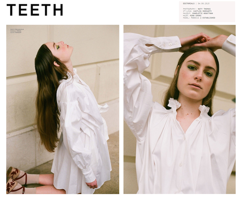Teeth magazine editorial